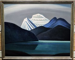 Mountains and Lake (Will S.) Tags: mcmichaelcanadianartcollection mcmichael mcmichaelgallery groupofseven trunks mypics kleinburg ontario canada tomthomson emilycarr aboriginalart art artgallery gallery canadiana canadian
