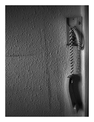 "On hold ! (CJS*64 ""Man with a camera"") Tags: cjs64 craigsunter cjs blackwhite bw blackandwhite whiteblack whiteandblack mono monochrome phone call hungup onhold busy"