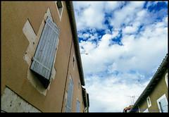 161004-0968-XM1.jpg (hopeless128) Tags: france sky eurotrip 2016 shutters buildings clouds nanteuilenvalle aquitainelimousinpoitoucharen aquitainelimousinpoitoucharentes fr