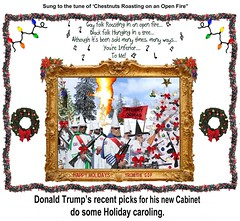 Trumps New Cabinet Celebrates the Holiday! (The Devils in the Details) Tags: donaldtrump politicallyincorrect thewizardofoz barrontrump gop isis margarethamilton vladimirputin sexdrugsandrockandroll hillaryclinton plannedparenthood bigot dumptrump thewalkingdead republican pedophile mikepence nastywoman badhombre conservative rape riencepriebus donaldmcgahn stevenbannon frankgaffney jeffsessions generaljamesmattis generaljohnkelly stevenmnuchin andypuzder wilburross cathymcmorrisrodgers bencarson ltgenmichaelflynn ktmcfarland mikepompeo nikkihaley betsydevos tomprice scottpruitt seemaverma gayconversiontherapy marriageequality kukluxklan daryldixon downtonabbey pussy melaniatrump jihad terrorist taliban walmart mexicanwall racism confederateflag nazi islam hilaryclinton berniesanders americannaziparty thebeatles therollingstones democrat rainbow tednugent boycotttarget contraception abortion tinfoilhatsociety batteredwomansyndrome she'sacunt foxnews thebirds liberal