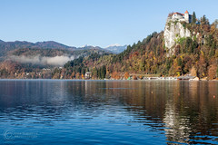 Lago di Bled (Gaia Schiavon - Photogallery) Tags: landscape lungolago lakebled lagodibled bled slovenia ifeelslovenia nature colors morning canon lightroom