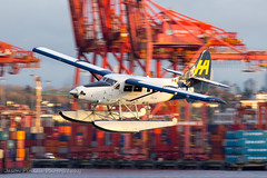 Northwest Takeoff (Jason Pineau) Tags: harbourair dehavilland dhc3 dhc3t otter floatplane seaplane takeoff coalharbour vancouver bc britishcolumbia