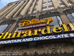 Disney Studio Store and Ghirardelli Soda Fountain