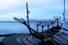 Sólfar (fordc63) Tags: iceland travel reykjavik sculpture boat ship viking art landmark sunvoyager