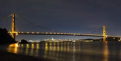 Kirby Cove GGB (J. Weed) Tags: nikon bridge golden gate water san francisco city reflection le landscape ocean