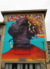 2016-11-01_15-19-11_ILCE-6300_9721_DxO (miguel.discart) Tags: 2016 27mm artderue citytrip createdbydxo crystalship dxo e18200mmf3563oss editedphoto focallength27mm focallengthin35mmformat27mm graffiti graffito grafiti grafitis ilce6300 iso100 mural oostende ostende sony sonyilce6300 sonyilce6300e18200mmf3563oss streetart thecrystalship