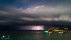 Thunderstorm at Lankayan Island, Borneo (melvinjonker) Tags: summerstorm storm nationalgeografic contrast asia malaysia ngc earthpix awesomeshots natureperfection cloudscape clouds nightphotography night longexposure sony colours beautiful paradise borneo island lankayan thunderstorm thunder nature landscape