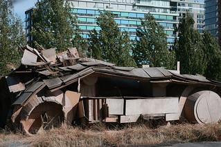 False Creek Cardboard Tank #2012_2105