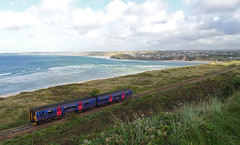 150263 Porthkidney Sands (Marky7890) Tags: train cornwall sprinter dmu porthkidney fgw class150 porthkidneysands 150263 2a28