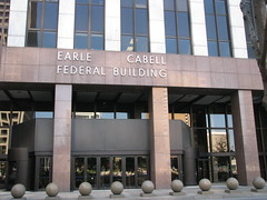 Earle Cabell federal office building, Dallas (Dan_DC) Tags: dallas bankruptcy districtcourt usdistrictcourtnortherndistrictoftexas downtown federal government judicialsystem federalcourt earlecabellbuilding officebuilding jurisdiction federalofficebuilding unitedstatesgovernment usgovernment