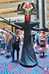 DSC_0626 (microbunnypimp) Tags: cosplay aku dragoncon samuraijack deadpool dragoncon2014