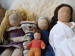 Saved from the attic today (storebukkebruse) Tags: dolls tidyingup waldorftoys seeingwhatisintheattic