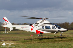 G-TRNG (Paul Beale Photography) Tags: paul photography airport power aircraft aviation gloucestershire helicopter academy westland bristow staverton beale agusta rotory trng aw109 gtrng