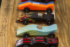 "Pinewood Derby Day. <a style=""margin-left:10px; font-size:0.8em;"" href=""http://www.flickr.com/photos/115718147@N06/15195484063/"" target=""_blank"">@flickr</a>"