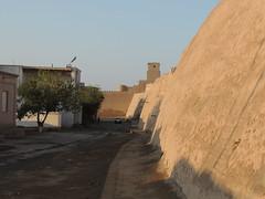 DSCN5494 (bentchristensen14) Tags: uzbekistan citywall khiva ichonqala
