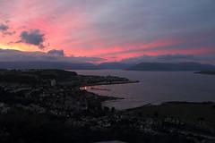 Bonnie Scotland...... (Gordy Glen) Tags: sunset sky nature scotland riverclyde clyde scenery free scottish gourock canon600d