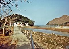 Pearl Bay & Hau Wong Temple, Tai O, Lantau Island 1992 (zorro1945) Tags: china hk river temple asia chine taoism pearlbay lantauisland lantau taio confucianism hauwongtemple flickrtravelaward