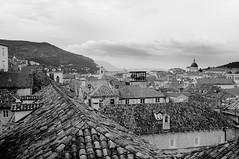 Old Town roofs B&W (Jonne Naarala) Tags: roof vacation bw anniversary croatia oldtown dubrovnik fujix100 fujifilmfinepixx100