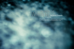 between the Waterline (check4newton) Tags: ocean blue sea portrait people water girl face person wasser portrt fjord waterline swimm wwwjoergoestreichcom