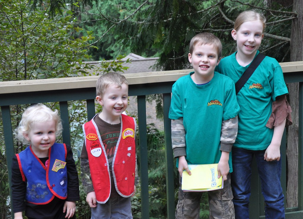 All four kids go to Awana this year.
