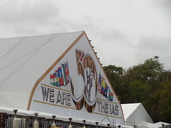 IAS Tent - 2014 (Mr Cheerful) Tags: scientology cult anonymous ias eastgrinstead sthill ias2014