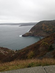 Some windy day at Signal Hill awaiting Hurricane Gonzalo (Jody's Creations) Tags: cabottower