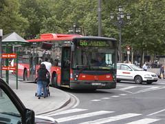 Bilbao Bilbobus (inigo.vanaman) Tags: bilbao autobus 56 bilbobus bilbaobus bilbobusbilbao
