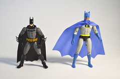 Bat Compare (skipthefrogman) Tags: classic metal vintage fun toy action figure batman 70s kit bandai mego diecast spru sprukits