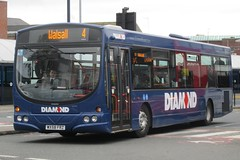 Diamond Volvo B7RLE/Wright Eclipse Urban 30855 (WX58 FRZ) (john-s-91) Tags: diamond westbromwich 30855 volvob7rle wrighteclipseurban sandwellroute4 wx58frz