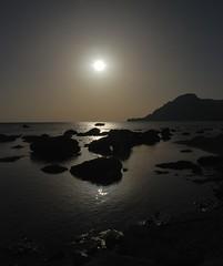 A Cretan Odyssey - The Sun Shining on a Silver Sea (antonychammond) Tags: sea sun beach silver mediterranean greece crete greekislands autofocus plakias thegalaxy magicmomentsinyourlife magicmomentsinyourlifelevel2 magicmomentsinyourlifelevel4