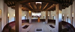 0U1A6011 Aztec Ruins NM - Great Kiva reconstruction, interior (colinLmiller) Tags: newmexico us nps nationalparkservice 2014 doi departmentoftheinterior aztecruinsnationalmonument