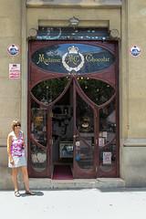 "Barcelona - L'Eixample (Martin Ujlaki-All photos ""copyright Martin Ujlaki"") Tags: door christine porte"