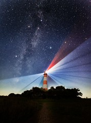 Westerhever at night (ixtussy) Tags: lighthouse night germany stars deutschland milky leuchtturm schleswigholstein westerhever westerheversand ixtussy