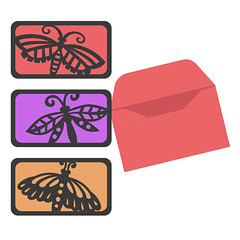 insects-minicards (emily dyer) Tags: silhouette card folded greetingcard svg papercut diecut foldedcard