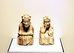lewischessmen (Clive Varley) Tags: london availablelight gimp layers britishmuseum museums chessmen ancientrelics nikond90 gmic toneenhancefilter