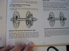 1948 Schwinn Paramount Track Hubs (DMichaelM) Tags: 1948 track schwinn paramount hubs