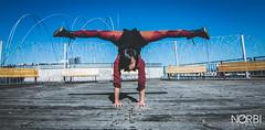 Arisa Meguro (JugglerNorbi) Tags: japanese artist hand circus strong balance handstand split contortion flexible