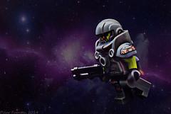 Alien avenger (Marmotuca) Tags: lego space alien galaxy galaxia espacio vengador alienavenger