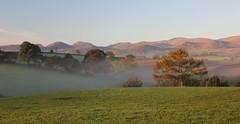 Sunrise in Snowdonia (ashperkins) Tags: trees mist mountains sunrise snowdonia goldenhour morningmist graig northwales earlymorninglight mistymorning glanconwy myautumn bbcwalesnature canoneos550d ashperkins potd:country=gb