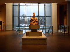 "Buddhist Statue & Winter landscape behind • <a style=""font-size:0.8em;"" href=""http://www.flickr.com/photos/34843984@N07/15537218331/"" target=""_blank"">View on Flickr</a>"