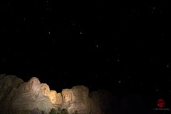 Great Bear over Mount Rushmore (Mark Kaletka) Tags: night southdakota blackhills stars mountrushmore ursamajor bigdipper nationalmemorial mountrushmorenationalmemorial