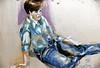 Lori, Charcoal drawing by Ziya Sever 1986 (ali eminov) Tags: nebraska wayne paintings drawings lori artists painters charcoaldrawings ziyasever