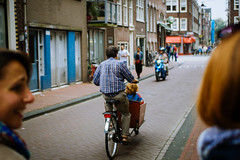. ( imightbewrong) Tags: street amsterdam bike bucket child taxi seat thecommute bestseatinthehouse