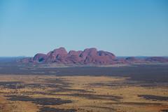 Kata Tjuta from the sky, Red Centre, Australia (M.Ancian & A.Uriarte) Tags: landscape desert flight uluru kata tjuta paysage katatjuta australie ayersrock redcentre petermann scenicflight territoiredunord
