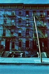 Fade From Your Mind - Slip Into The Greens And Blues (bill bold II) Tags: usa newyork film 35mm analogue homedeveloped kodakeir olympusom2n colourinfrared