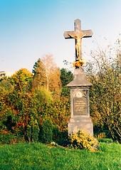 Kiev 4 + Jupiter-8 - Crucifix 2 (Kojotisko) Tags: brno cc creativecommons vintagecamera czechrepublic kiev4 jupiter8 superiaxtra400