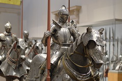 Knights Of The Museum (Mohammed.Arfan.Aslam) Tags: nyc horses horse newyork art museum manhattan knights weapon armour metropolitan weapons of