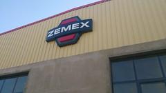 ZEMEX Logo Signage (Mohamed El Shafie) Tags: logo design iron factory sheets plastic signage gable plexy zemex