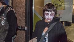 Portrait (C@mera M@n) Tags: street nyc newyorkcity portrait people urban ny newyork place unitedstates zombie places ghoul hideous zombiecrawl