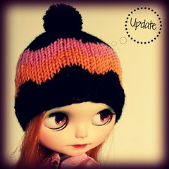 Hipster bobble hats...